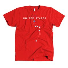 Prinstant Replays | USA - Donovan $30 http://www.prinstantreplays.com/collections/world-cup/products/usa-donovan-2010-red-shirt