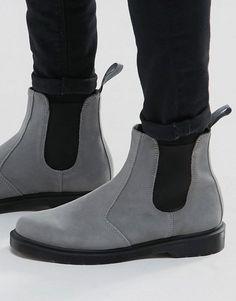 402521c128d Discover Fashion Online Grey Chelsea Boots Men