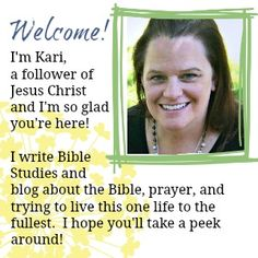 Blogging about Christian living, application, growing in Christ and the home of all the Journal and Doodle Bible studies!
