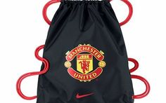 Buy Nike Manchester United Allegiance Draw String Bag, Black/Action Red from our Kit & Duffel Bags range at John Lewis & Partners. String Bag, Manchester United, Drawstring Backpack, The Unit, Backpacks, Nike, Sports, Red, Stuff To Buy