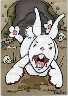Killer rabbit in action. Rabbit Of Caerbannog, Sonic The Hedgehog, Action, Graphics, Digital, Fictional Characters, Art, Art Background, Group Action