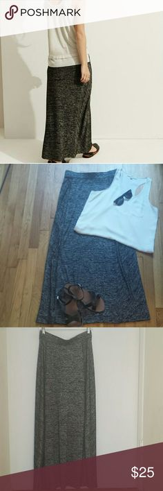 Lou & Grey spacedye maxi skirt Spacedye maxi skirt by Lou & Grey! Very long, could work for a lot of heights. Extremely comfortable, lightly worn, size S. Excellent condition! Versatile: wear with tight or loose tops, moto jacket, flats or ankle boots! Make me an offer! Lou & Grey Skirts Maxi
