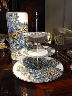 Palazzo Pitti Large Vase and Three Levels Risers| Roberto Cavalli Home #KingsofChelsea #Showroom #Tableware #RobertoCavalliInteriors #AnimalPrint #Vase #Rises #RobertoCavalliHomeInteriors #KingsofChelsea #Interiors #InteriorsStylist #Fashion #Style #Lifestyle #DesignInspiration #Design #RobertoCavalli #RobertoCavalliInteriors #DesignBlog #InteriorsBlog #InteriorDesign #FurnitureDesign