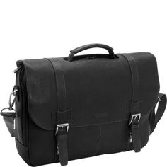 Keep your laptop computer and everyday business essentials neatly together in the Kenneth Cole Reaction Show Business Columbian Leather Flapover Computer Case. Buy now! Laptop Briefcase, Leather Laptop Bag, Laptop Bags, Best Luggage, Luggage Bags, Laptop Storage, Laptops For Sale, Laptop Computers, Computer Case