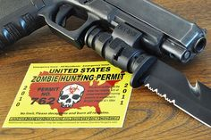 How to Pick the Best Zombie Pistol Zombie Tactical Gear, Zombie Gear, Zombie Apocalypse, Best Zombie, Survival Weapons, Guns And Ammo, Hand Guns, Hunting, Good Things