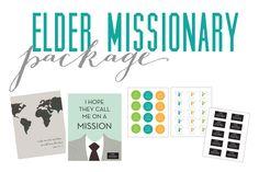 Alex Halladay Design: free LDS elder/sister missionary printables (ps: she's amazing!)