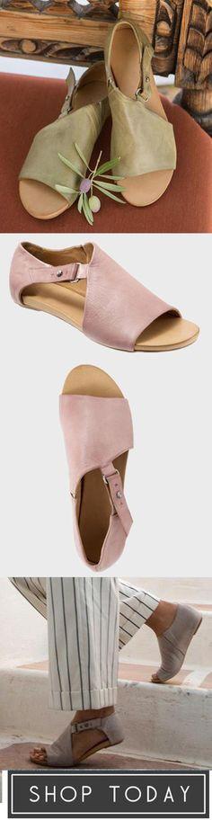 36d60b1465e Sheinlook Women Open Toe Closed Back Sandal Shoes Mules Shoes