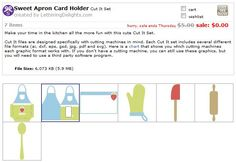 FREE - Apron Card Holder (ai, dxf, eps, gsd, jpg, pdf and svg) file formats.