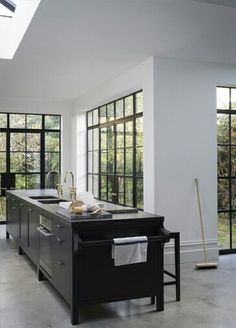 L shaped extension interior.. lovely kitchen too