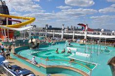 #NorwegianEpic pool deck