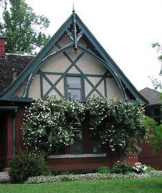 Exterior Rose Trellis