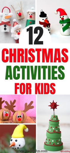 Christmas activities for kids to do this holiday season.DIY Christmas crafts for kids to make Mason Jar Christmas Crafts, Christmas Crafts For Toddlers, Diy Christmas Decorations Easy, Christmas Crafts For Kids To Make, Simple Christmas, Kids Christmas, Holiday Crafts, Merry Christmas, Holiday Activities