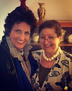 7 отметок «Нравится», 1 комментариев — Lynn Cathryn Walters (@lynncatwalters) в Instagram: «Masha and Me  #MashaArcher #MashaArcherExtraordinaryJewelry»