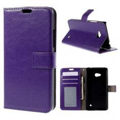 Lumia 640 violetti puhelinlompakko