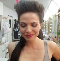 Lana with her evil queen hair