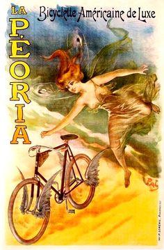 art nouveau cycling