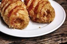 """Diaporama """"Hot dog à l'americaine : 25 garnitures que vous n'auriez pas imaginé"""" - Hot dog pretzel"""