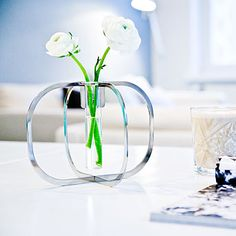 One flower vase / Highlight the delicate beauty of a single flower