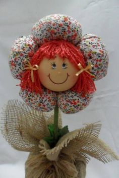 Diy Craft Projects, Diy And Crafts, Sewing Projects, Crafts For Kids, Arts And Crafts, Felt Flowers, Fabric Flowers, Pinterest Diy Crafts, Shabby Chic Crafts