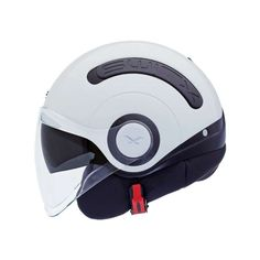 Nexx Plain Helmet in White - This scooter/jet helmet comes with a soft, anti-allergy and anti-sweat inner liner, which keeps your head comfortable and feeling fresh, thanks to the new Cooling Cover Tech ventilation system.