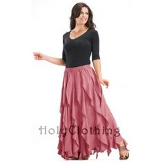 Talia Ruffle Peasant Skirt $39.99  I broke down and bought this.  So worth it.