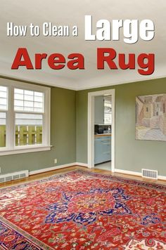 There are many methods for cleaning a large area rug, from steam cleaning, to power washing. Learn how to clean an area rug in this guide.