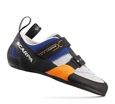 #Scarpa force x rock #climbing #shoe, uk 9.5, blue/grey,  View more on the LINK: http://www.zeppy.io/product/gb/2/141990965940/