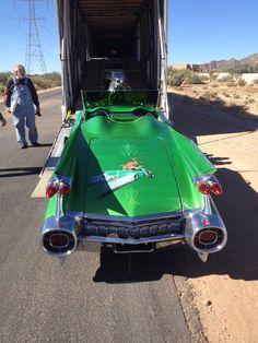 1959 Cadillac Roadster auto transport!  #Cadillac #autotransport #shipping #classiccars #history #transport #logistics #Arizona #driving