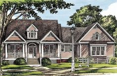 So so.  Home Plan The Richfield by Donald A. Gardner Architects  1925 sq ft