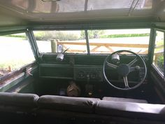 1958 Land Rover Series 2 Barn Find No.221 (NDB 430) - Williams Classics Barn Finds, Landing, Classic, Derby, Classic Books