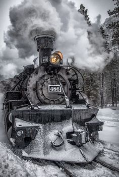 the Durango and Sliverton Railroad, Durango, Colorado, 2012, by Eric Wulfsberg