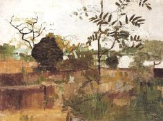 Riverside Gardens, HammersmithVictor Pasmore Riverside Gardens, Hammersmith, 1946 oil on canvas 17 x 23 inches x cm Green Landscape, Abstract Landscape, Landscape Paintings, Landscapes, Victor Pasmore, Riverside Garden, Painting Collage, David Hockney, Photo Tree
