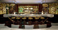 David Collins - The London West Hollywood, Los Angeles, California, USA West Hollywood California, Hotel California, California Travel, Restaurant Design, Restaurant Bar, Smart Design, Modern Design, Bar Interior, Interior Design