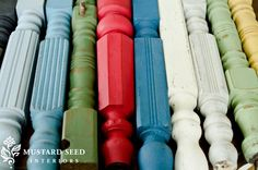 Milk Paint-we'll be carrying it soon in our shop. :-)