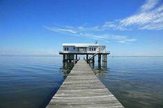 The Rauschenberg Residency on Captiva Robert Rauschenberg, Captiva Island, Fish House, Fotografia