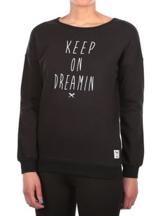 Dreamin Sweat [black] // Pre Spring 2016 - DREAM YOUR DREAM: http://www.iriedaily.de/women-id/women-prespring-2016/