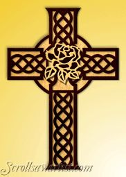 Free Celtic Cross Scroll Saw Patterns