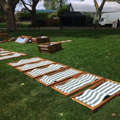 Preparation is key! Silent cinema zsl London zoo @anywheredeckchairs