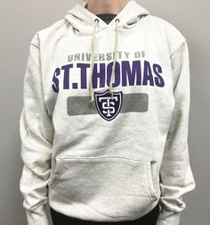 University of St. Maine, St Thomas, Hoodies, Sweatshirts, Screen Printing, Oatmeal, Relationships, University, Graphic Sweatshirt
