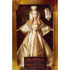 Boneca Barbie da Rainha Cleópatra