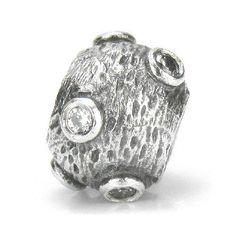 Retired Collectors Item, Authentic PANDORA Jewelry Moonscape Bead with Clear Cubic Zirconia Stones, Catalog #79160CZ - Highly Collectible European Bead Charm for Authentic Pandora Bracelet PANDORA Jewelry. $99.99. Authentic PANDORA Jewelry Bead Charm. Perfect for any collector. Release - 2004, Retired