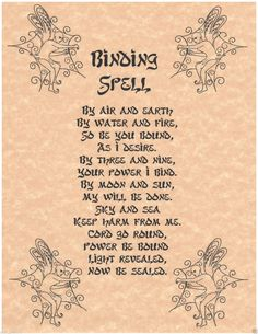 Good spells to test the link of psychology and spells?