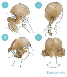 Hairstyles for this winter: manuals for the most fashionable hairstyles - Best Hairstyles - Frisuren Hair Cute Simple Hairstyles, Trendy Hairstyles, Braided Hairstyles, Kawaii Hairstyles, Hairstyles For School, Hair Dos, Hair Designs, Hair Hacks, Hair Inspiration