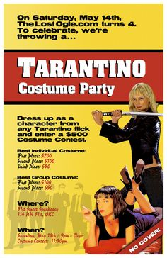 Tarantino Party... Cool shit in okc