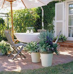 Sommerliche Balkonbepflanzung: Maritimer Look für Balkon und Terrasse
