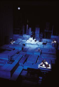 2000/01 Candelaio di Giordano Bruno, regia di Luca Ronconi, foto di Marcello Norberth