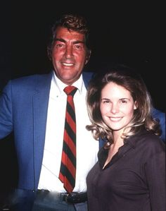 Dean Martin and daughter Gail                              …