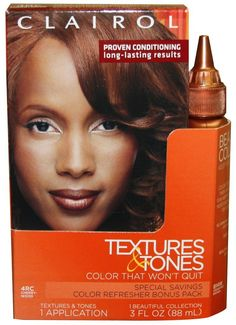 Clairol Textures and Tones Hair Color - -4Rc - Cherrywood /14W (Pack of 2) >>> Click image for more details.