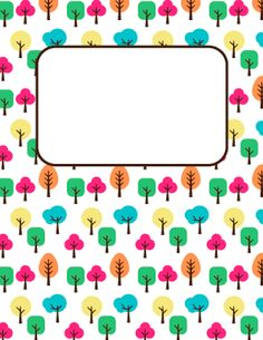 Tree Binder Cover