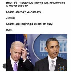 Im gonna miss Barack Obama And Joe Biden Memes. (22 Pics) | The Blended Fun #funnypics #funny #lol